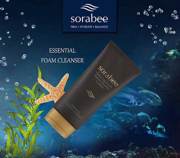 Sorabee Anti-Wrinkle Essential Foam Cleanser