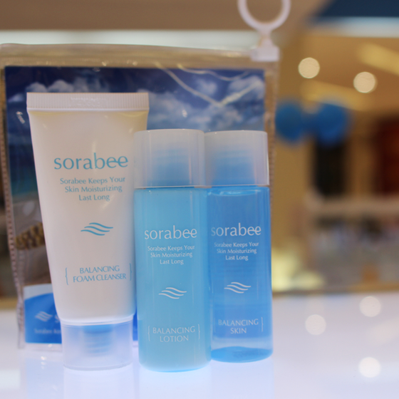 Wonder why beauties love Sorabee Balancing Travel Kit so much?