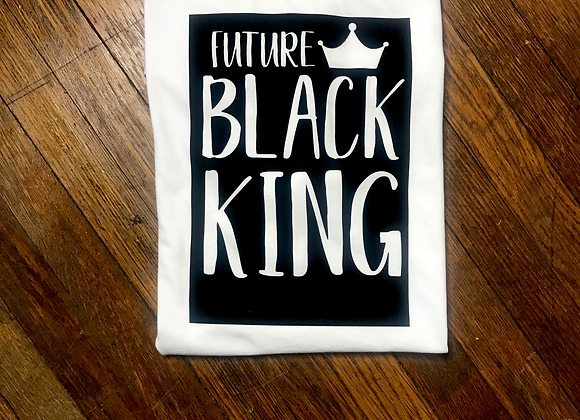 """Future Black King""  T-Shirt"