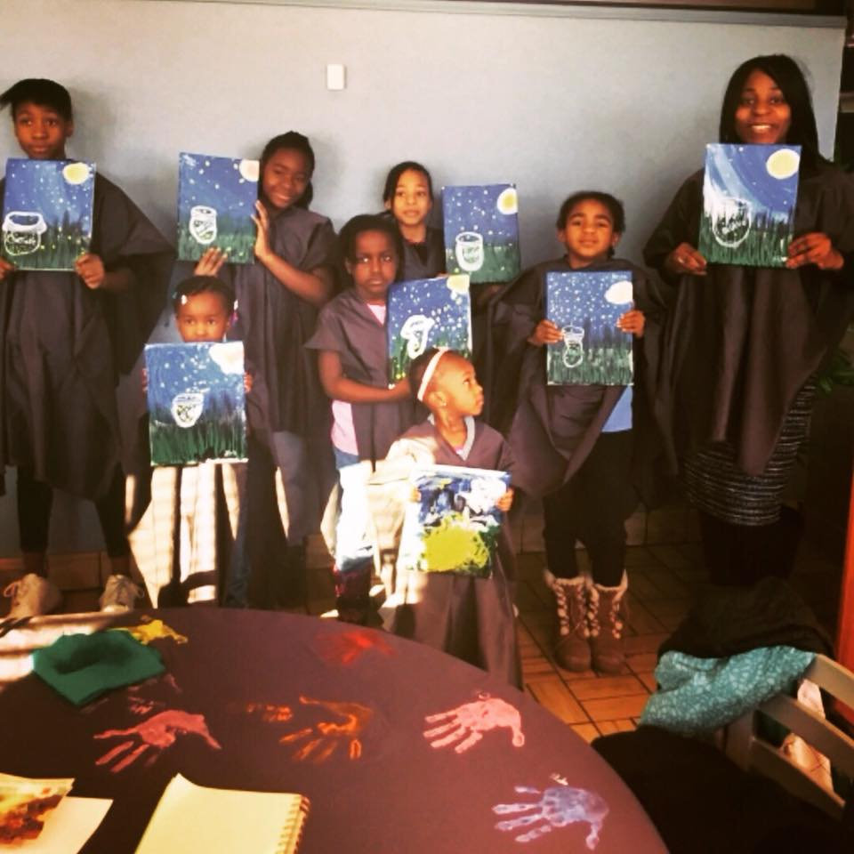 Private Kid's Painting Party