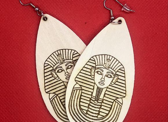 Oblong Egyptian Earrings
