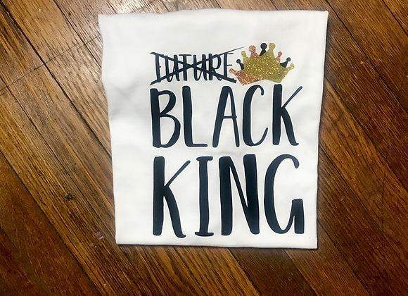 """Black King""  T-Shirt"