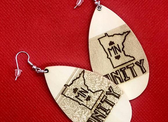 Oblong MN Unity Earrings