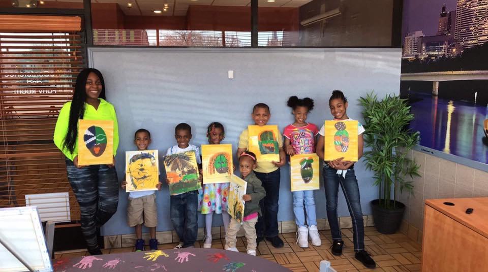 Kid's Paint & Dance Party