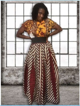 African Dawn Dress