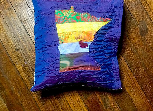Iridescent MN Pillow