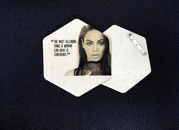 Beyonce Brooch