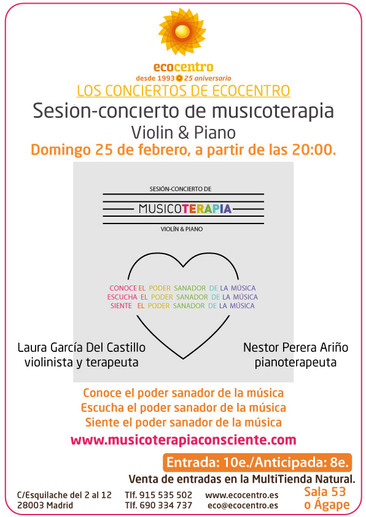 IV SESIÓN CONCIERTO DE MUSICOTERAPIA