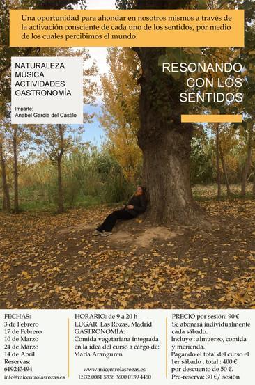 RESONANDO CON LOS SENTIDOS (febrero a abril en Las Rozas)