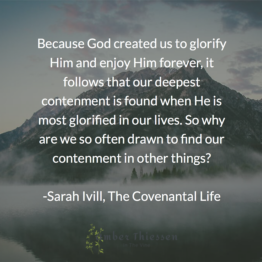 Sarah Ivill, The Covenantal Life