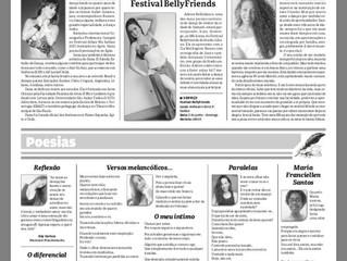 BIOGRAFIA DE DANA EL FAREDA É PUBLICADA NO JORNAL CULTURA EM FOCO