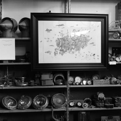 Seconde exposition à l'atelier de Pascal Bettex