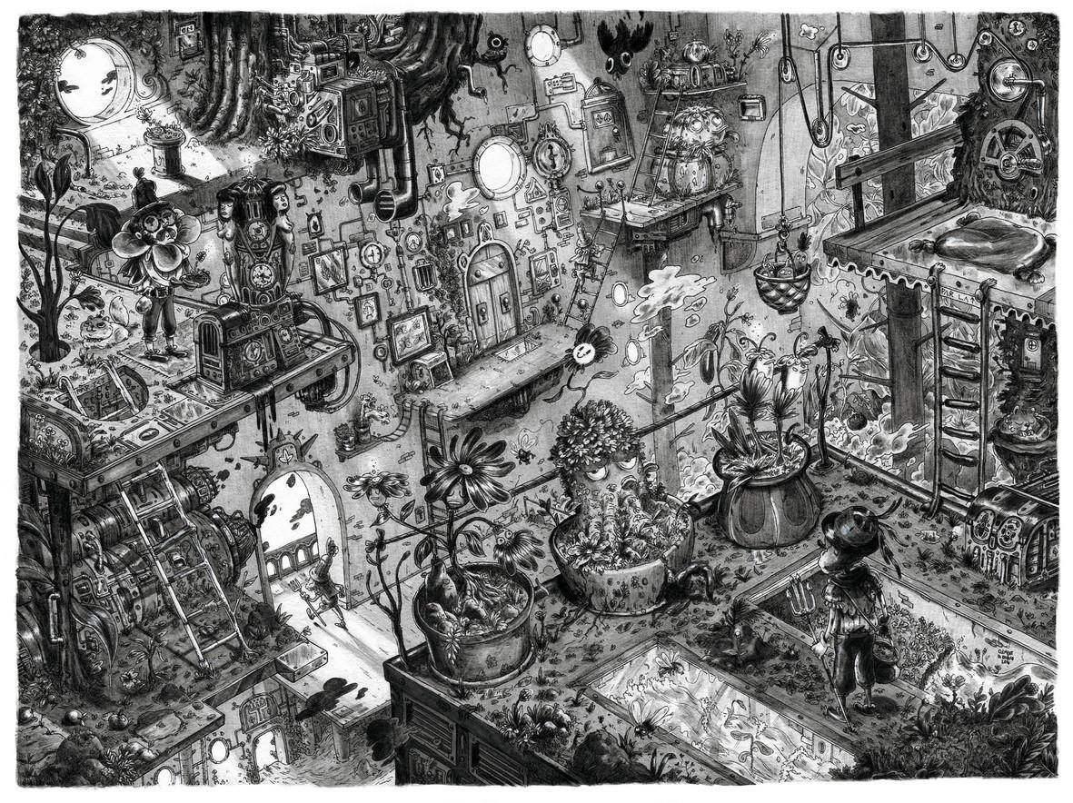 Inside the reaktor