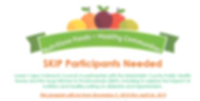 Nutrition Program at SKIP
