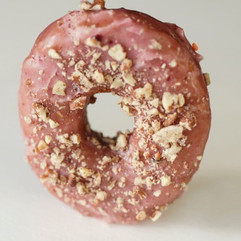 Working on the doughnut menu for Friday.