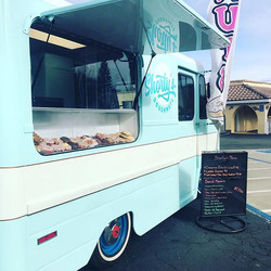 Donut truck is ready for business! Come