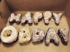 Say it with doughnuts 😋 does anyone hav
