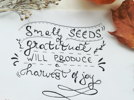 Gratitude as a way to happier life