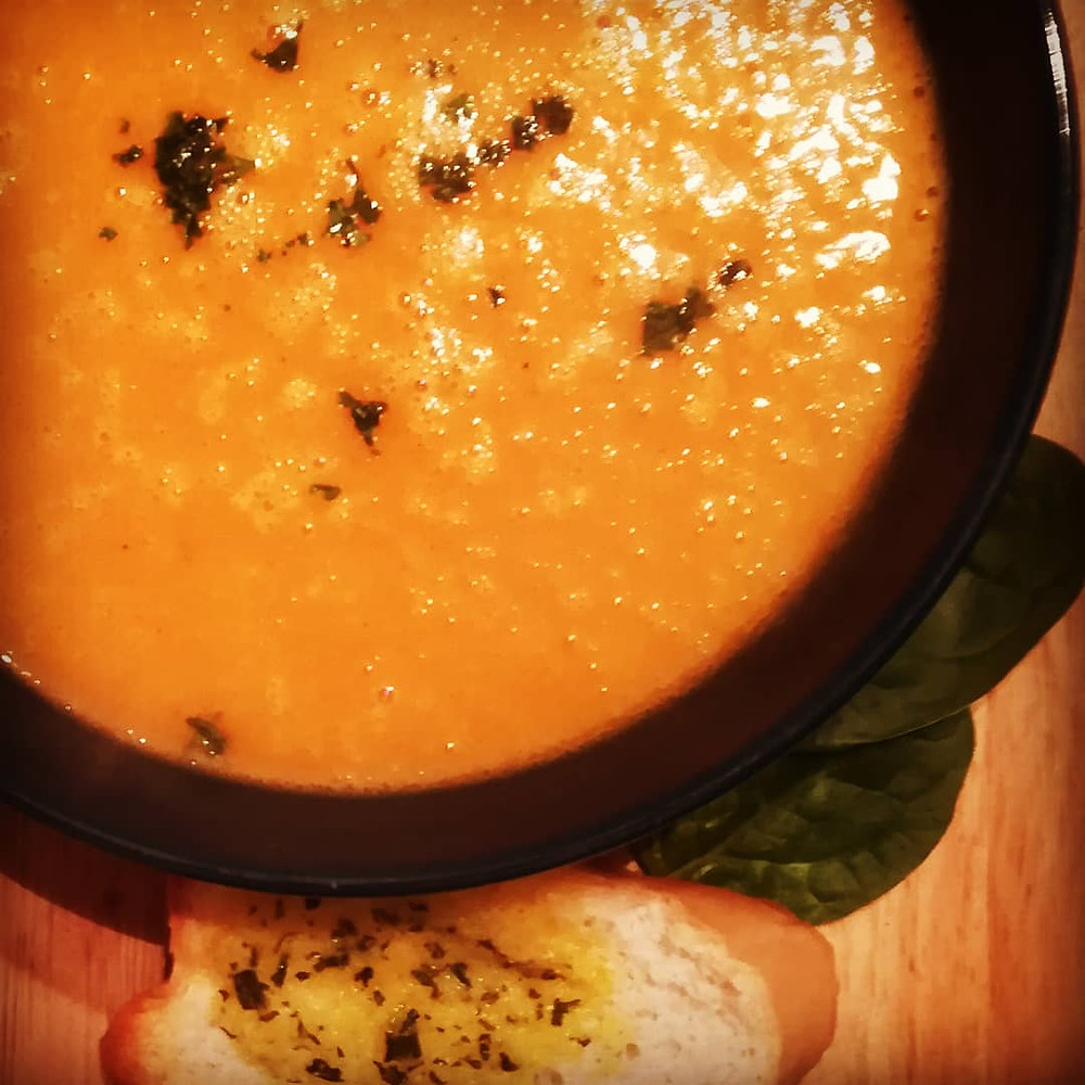 Diary-free Pumpkin Soup