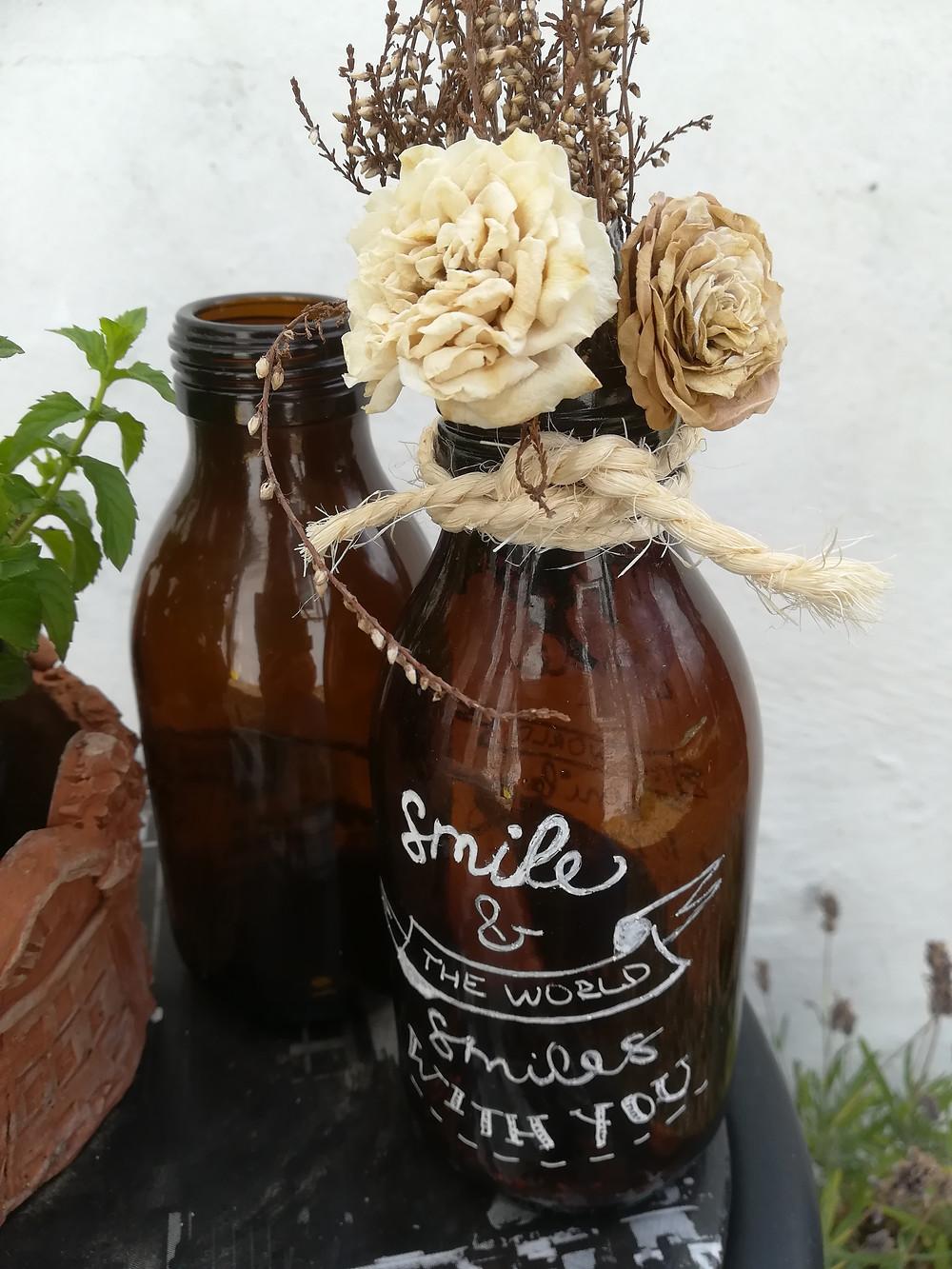 DIY Upcycled Vase