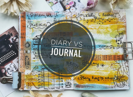The difference between journal and diary