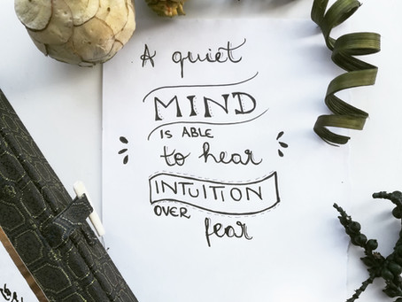 How to quieten our mind with wellbeing journaling