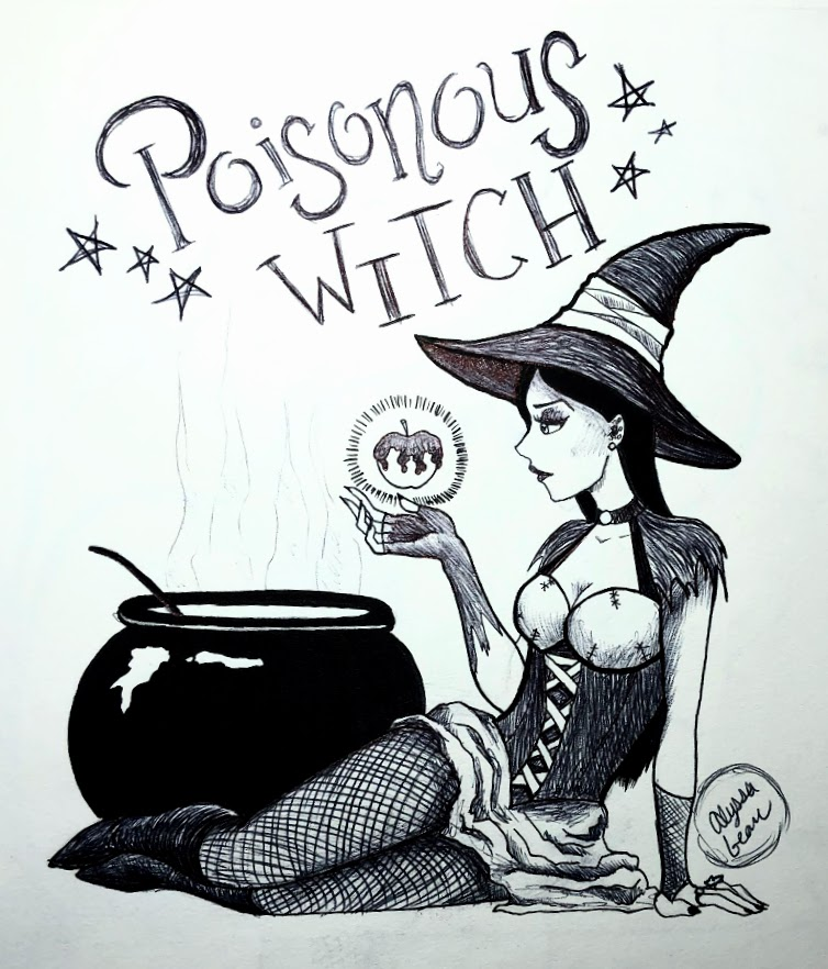 2019. Poisonous Witch