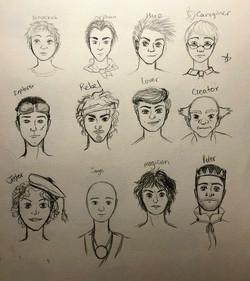 2018. Character Studies