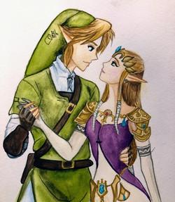 2020 Link and Zelda