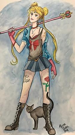 2017 . Sailor Moon