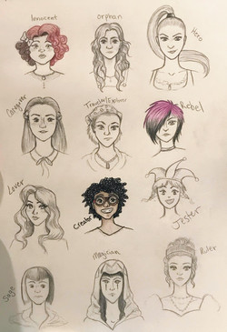2018 . Character Design