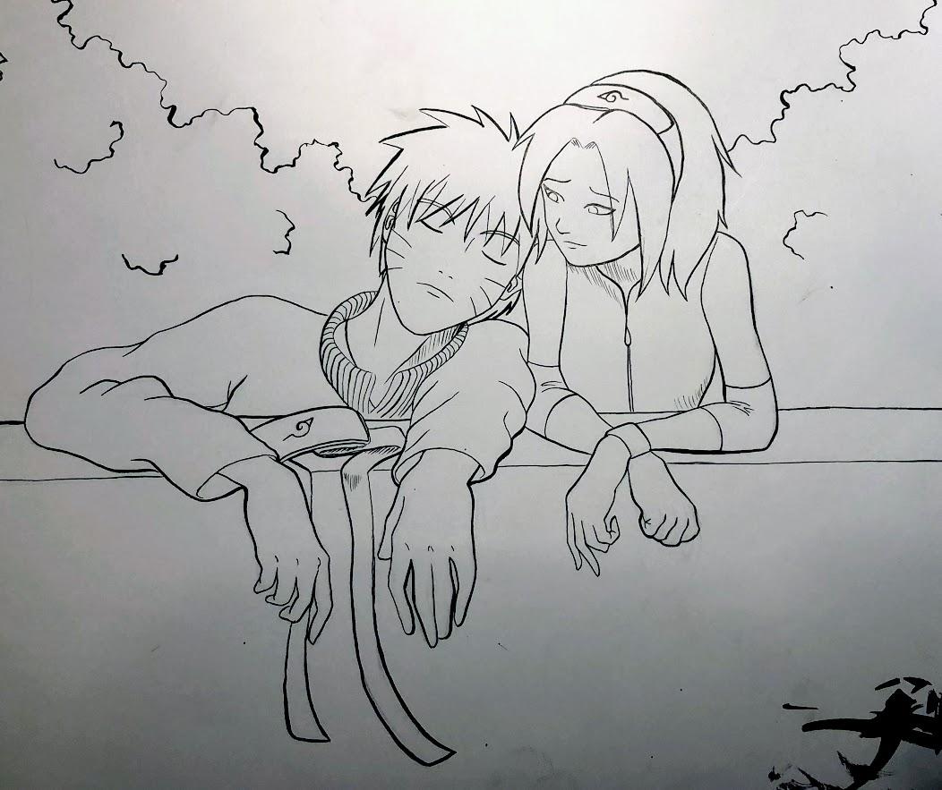 2013. Naruto and Sakura