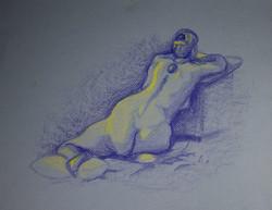 2013 . Blue Figure
