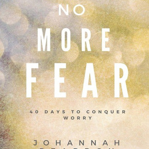 No More Fear – Author Q&A with JoHannah Reardon