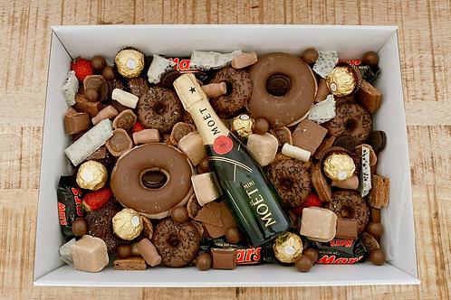 Moet or Baileys Chocolate Donut Dreams