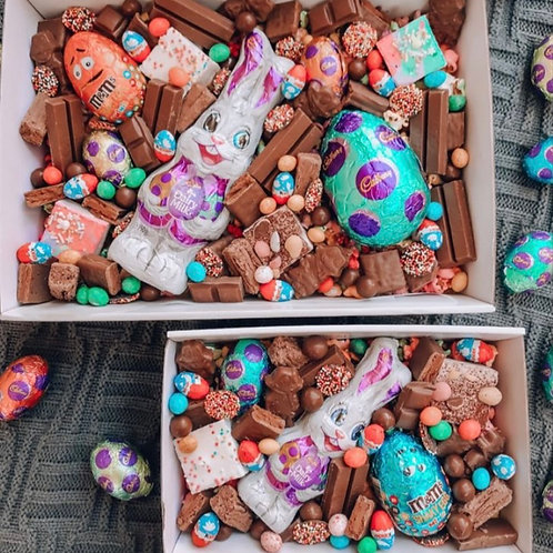 Fully Loaded Easter Bunny Chocolate Box