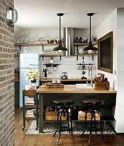 кухня в стиле лофт на заказ