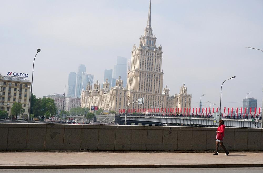 נהר מוסקבה, מוסקבה