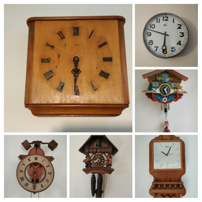 אוסף שעוני קיר