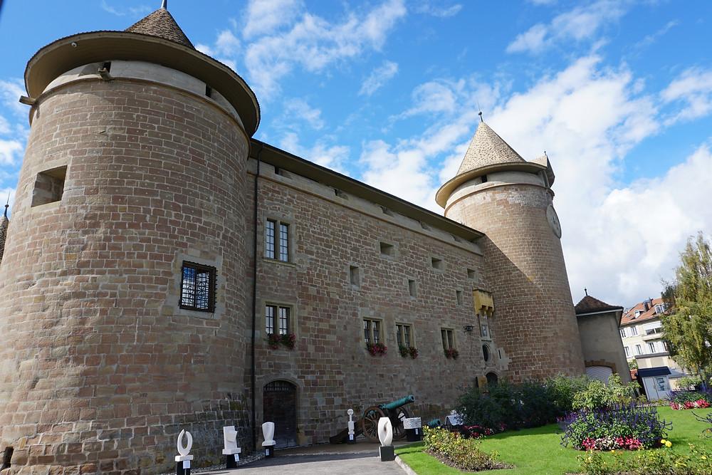 המוזיאון הצבאי בטירת מורז'