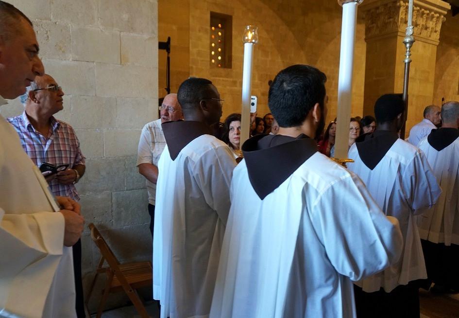 חג ההשתנות בכנסייה הפרנציסקנית
