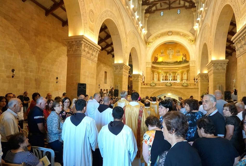 הכנסייה הפרנציסקנית הר תבור