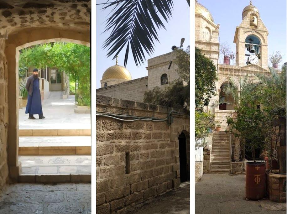 מנזר דיר חג'לה, כביש 90, אטרקציות בכביש הערבה