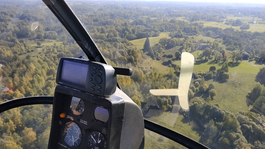 ארוקלב מולטאי, שדה תעופה מולטאי, טיסה בשמי ליטא