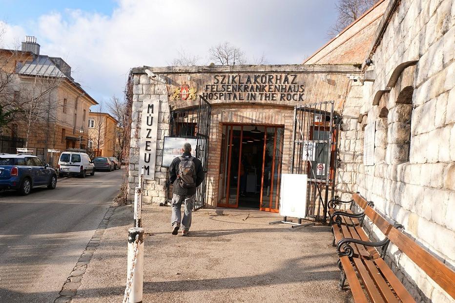 בית החולים שבסלע בודפשט