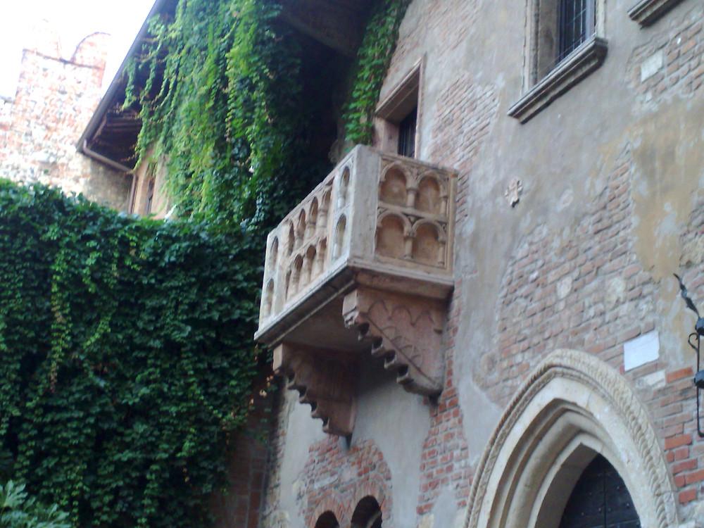 ורונה, המרפסת של יוליה, רומיאו ויוליה