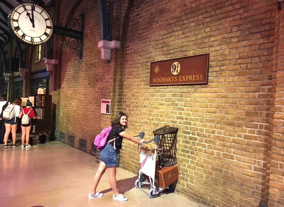טיול בעקבות הארי פוטר, רציף תשע ושלושה רבעים, לונדון