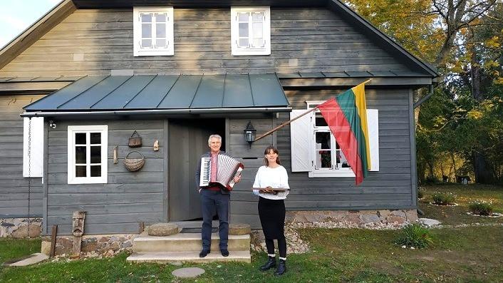 המוזיאון הפתוח פגולביס, ליטא,Kazimieras Jakutis