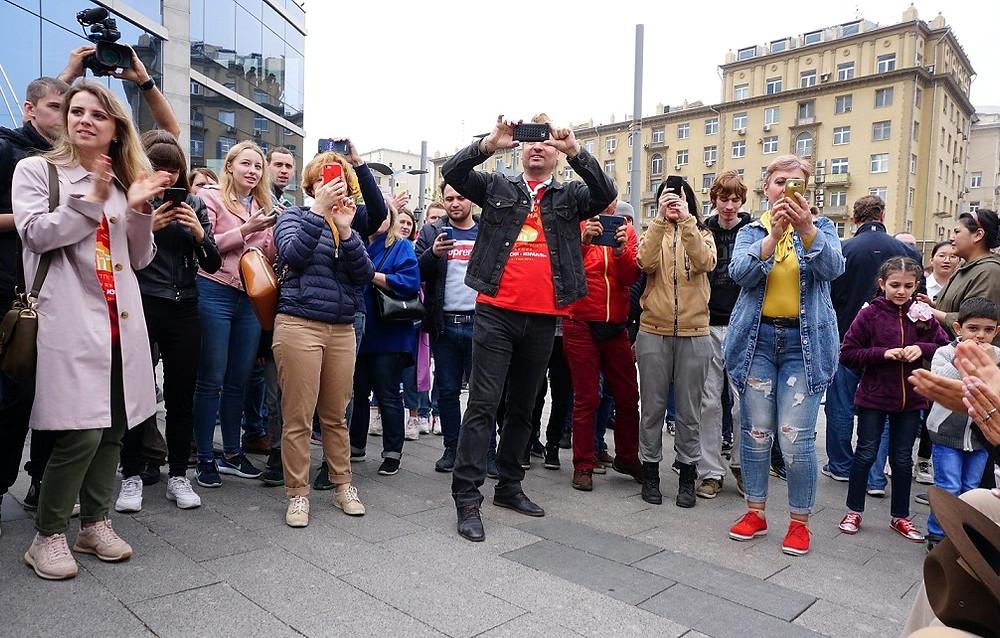 מצעד יום הניצחון על הנאצים, מוסקבה