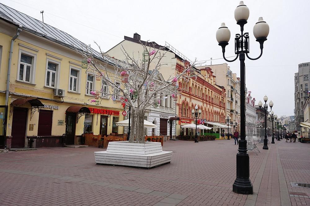 שדרת ארבט מוסקבה